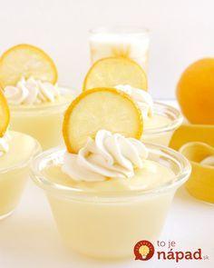 lahodný citrónový krém,