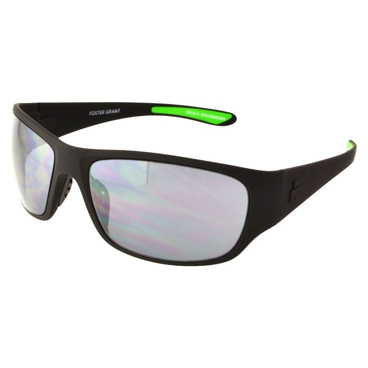 Men's Rectangle Sunglasses - Black