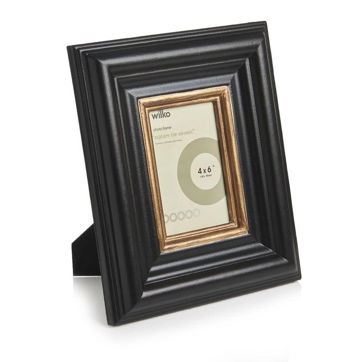 Wilko Rembrandt Frame Black/Gold £8 at wilko.com