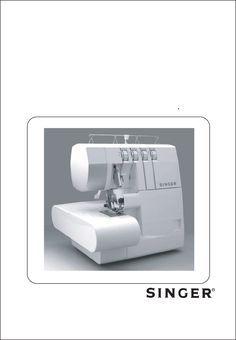 Singer Overlock 754 manual - Máquina de coser
