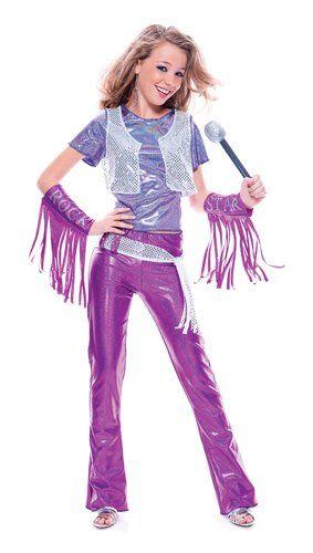 Paper Magic Group Glam Rock Star Costume II