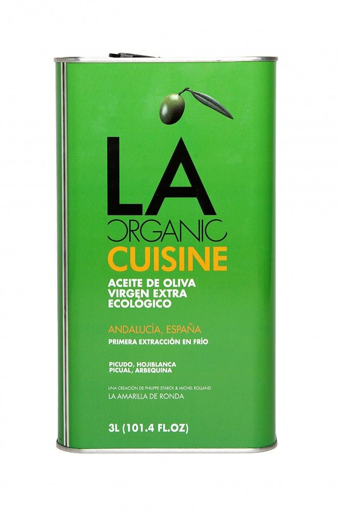 Topbio - Aceite de oliva virgen ecológico LA CUISINE