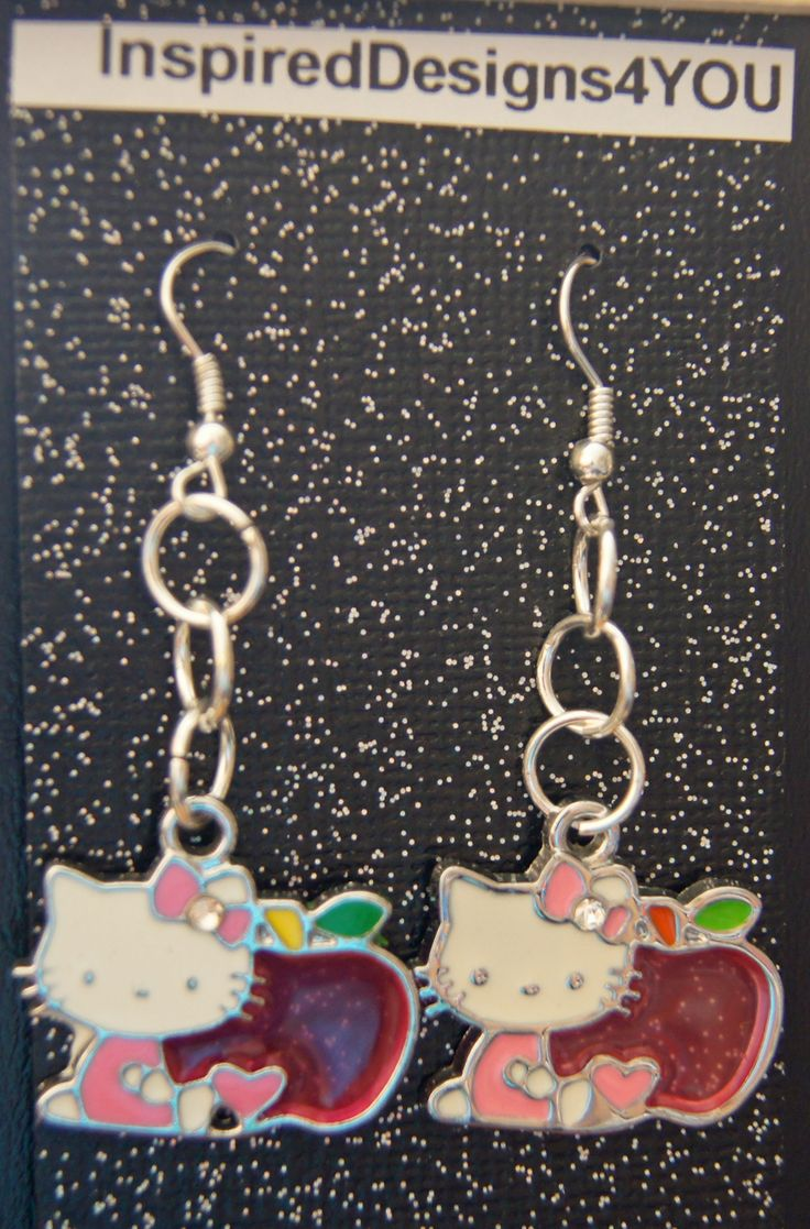 Everyone loves a kitty and an apple for the teacher.  Be my valentine is sure to please when you wear these.....https://www.etsy.com/listing/176626137/hello-kitty-valentine-red-heart-enamel?ref=shop_home_active_1