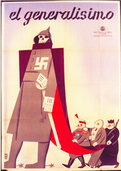 Spanish propaganda poster
