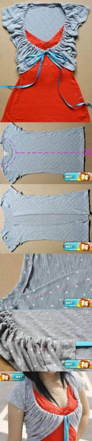 Camisa de la decoración de DIY DIY Camisa Decoración por diyforever