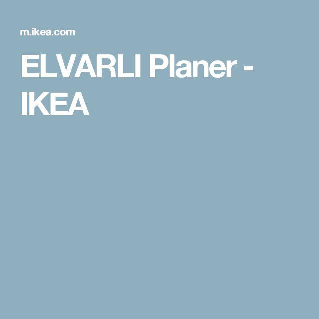 Superb ELVARLI Planer u IKEA