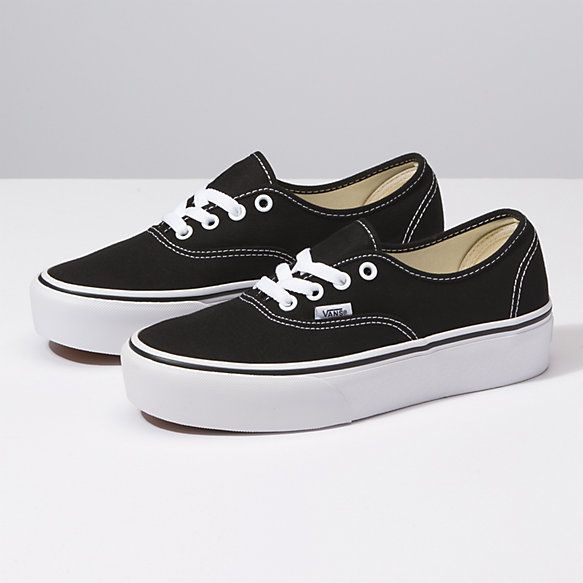 Authentic Platform 2 0 Shop Shoes At Vans In 2020 Vans Authentic Black Platform Vans Vans Authentic