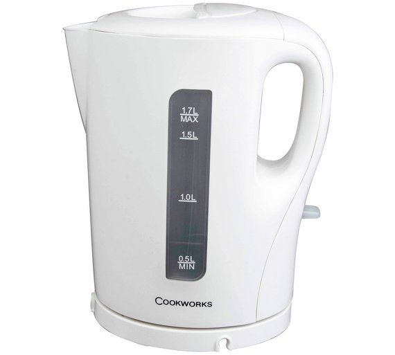 Buy Cookworks White Kettle at Argos.co.uk, visit Argos.co.uk to shop online for Limited stock Home and garden, Limited stock clearance