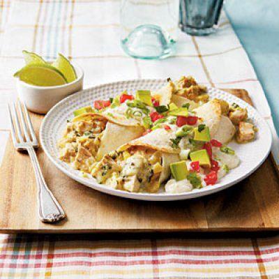 Quick and Easy Dinner Recipes: Chicken Enchiladas