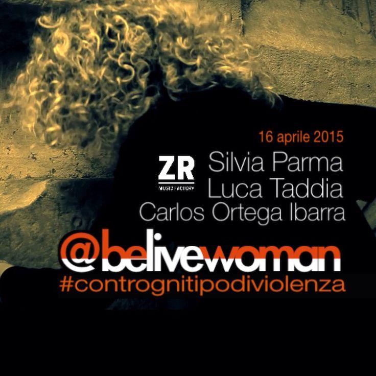 #contrognitipodiviolenza @belivewoman Un team di artisti - un progetto a tre voci - una idea comune  Silvia Parma  Luca Taddia Carlos Ortega Ibarra Live in diretta via Twitter con premiazione a fine serata
