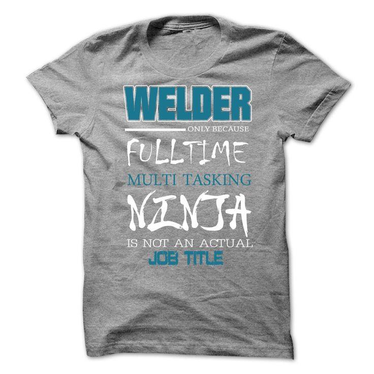 WELDER JOB TITLE