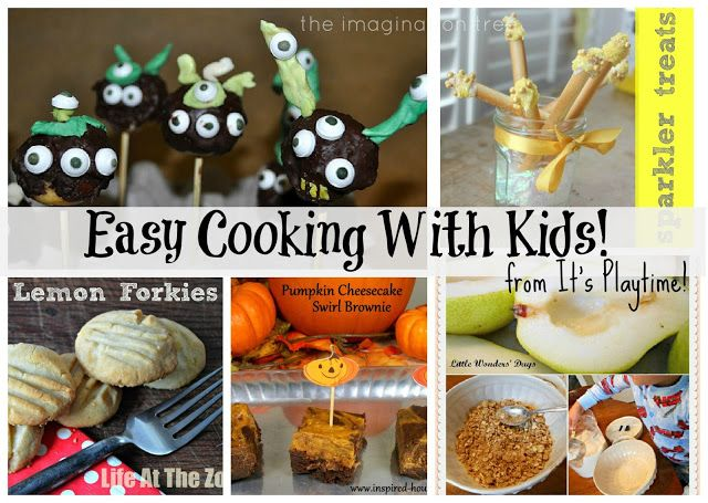 Easy Cooking With Kids [It's Playtime!} - The Imagination Tree