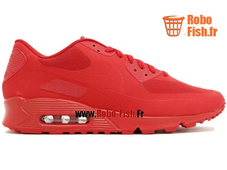 """Nike Air Max 90 Hyp Qs """"Usa"""" - Chaussure Nike Running Pas Cher Pour Homme Rouge 613841-660"""