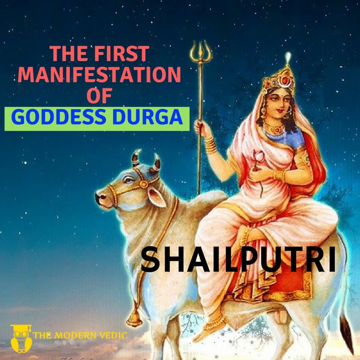 BEING THE FIRST AVATAR OF GODDESS DURGA, SHAILPUTRI IS SAID TO BE THE REMOVER OF IGNORANCE AND HAS THE POWER TO SHOWCASE HER DEVOTEES, THE REALIZATION OF HER DIVINE. HER DIVINITY IS SO GREAT THAT IT IS BELIEVED THAT MANY GODS WORSHIPED HER DURING THEIR INCARNATION ON EARTH IN ORDER TO ACHIEVE THEIR GOALS  As per Hindu religion, during the Navratri puja, priests focus their minds on the root chakra, which is the beginning of their spiritual discipline.