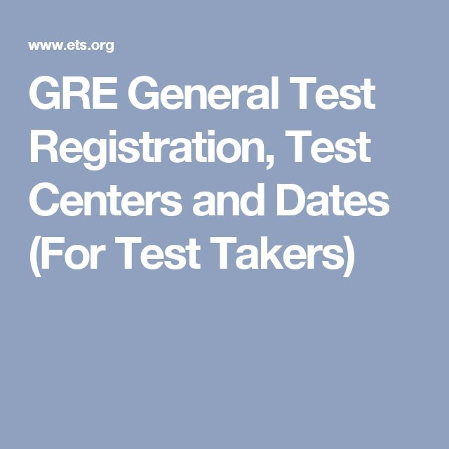 gre sign up dates