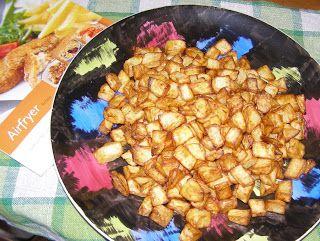 W Mojej Kuchni Lubię.. : chrupiące kostki frytkowe: Airfryer hd9240/30