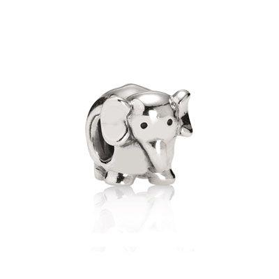 "PANDORA | Elephant.  Added this to my bracelet to represent ""Big AL"" for Alabama!"