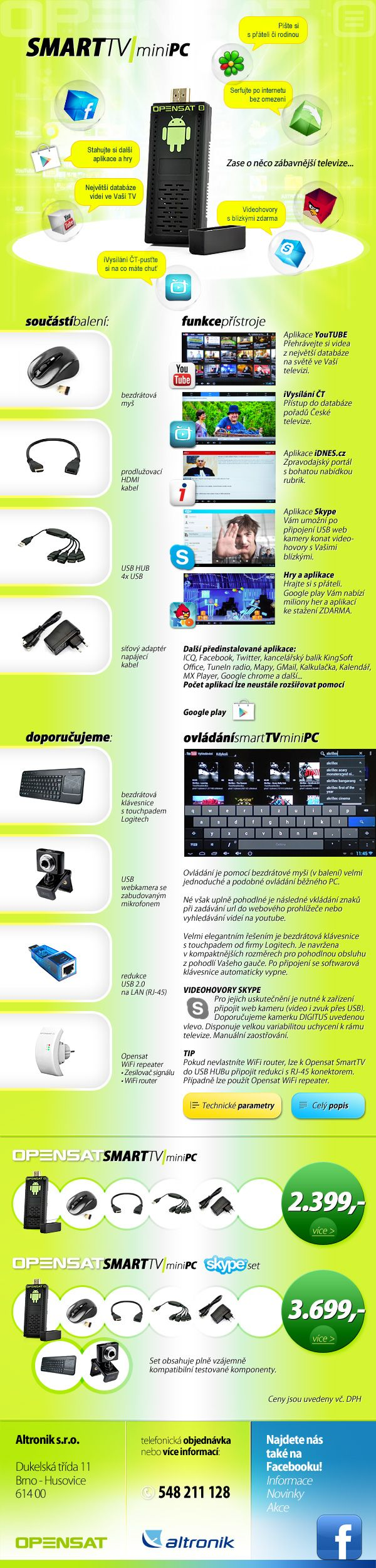 Opensat smart TV newsletter