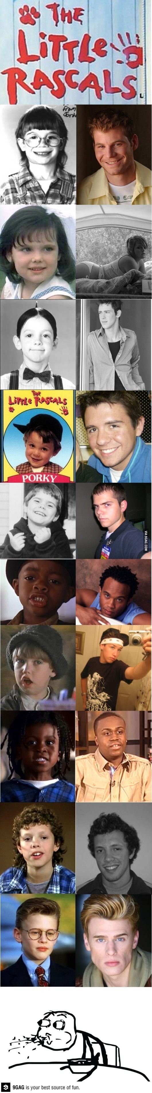 Little Rascals, then and now