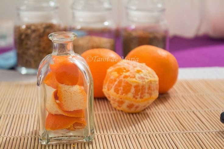 Cómo preparar Aceite de Mandarina ~ TAROT DE MARÍA - Tarot y Rituales de Alta Magia Blanca