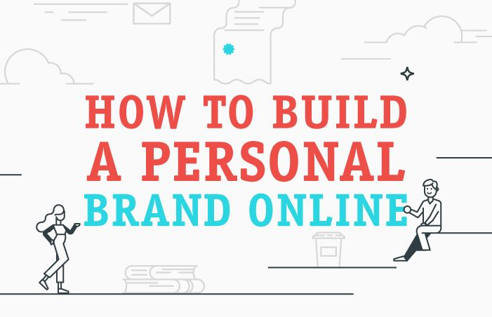 Social media can be a great way to build your personal brand - this infographic outlines how you can go about doing just that.