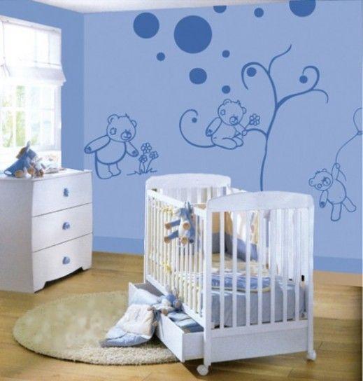 Decorazioni per le pareti della cameretta stanza neonato