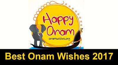 Best 20 Onam Wishes 2017