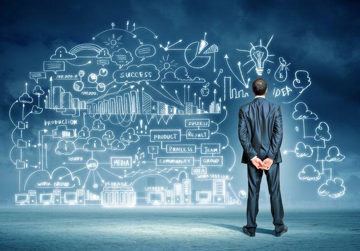 """""""La sorgente più potente del mondo è la grande idea, ma solo se è nelle mani di un buon imprenditore. Così si può muovere il mondo."""""""