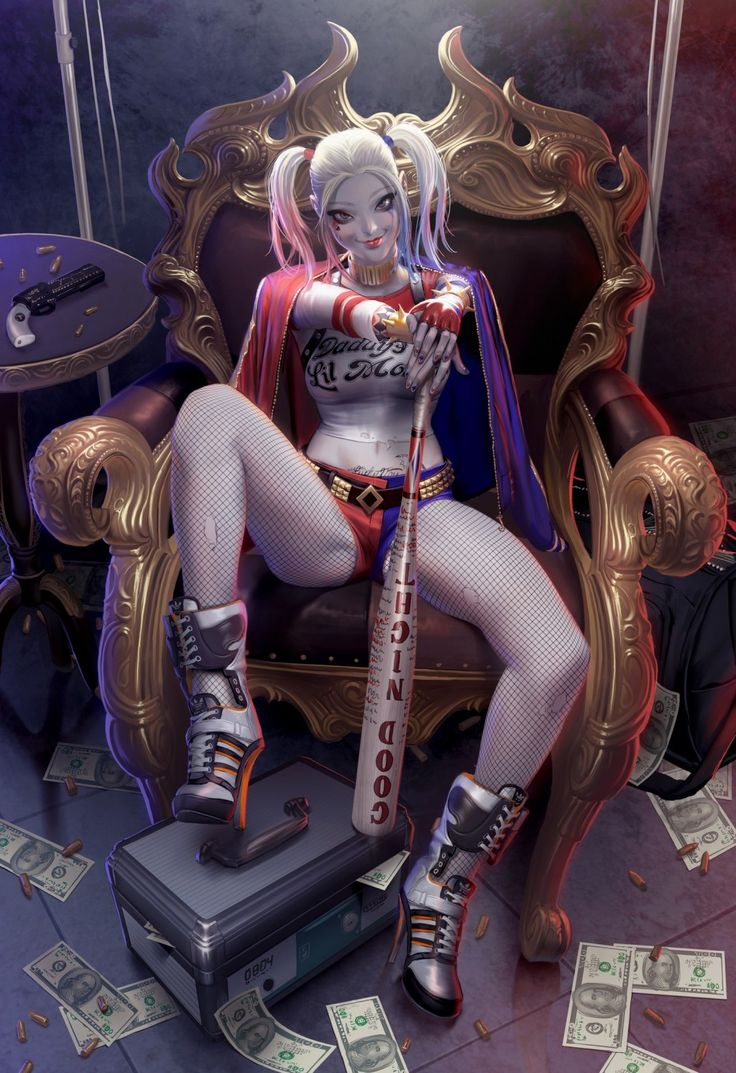 #Harley_Quinn, #pictures, #Харли_Квинн, #картинки https://avavatar.ru/image/8683
