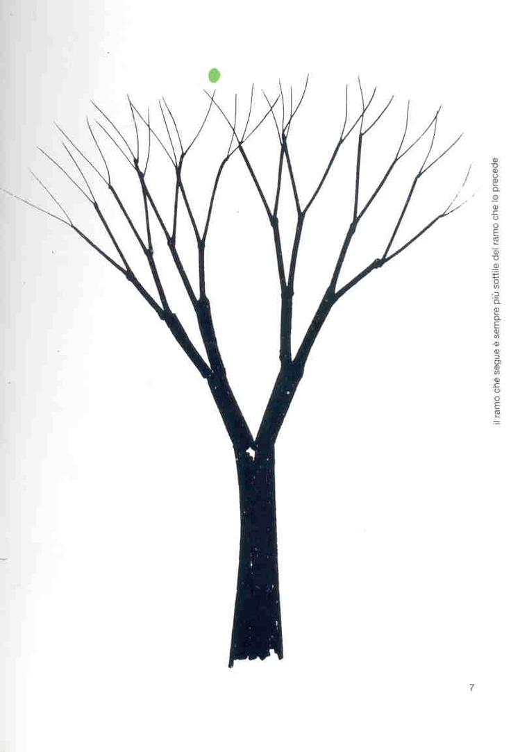 """B.Munari """"Disegnare un albero"""" pag.7"""