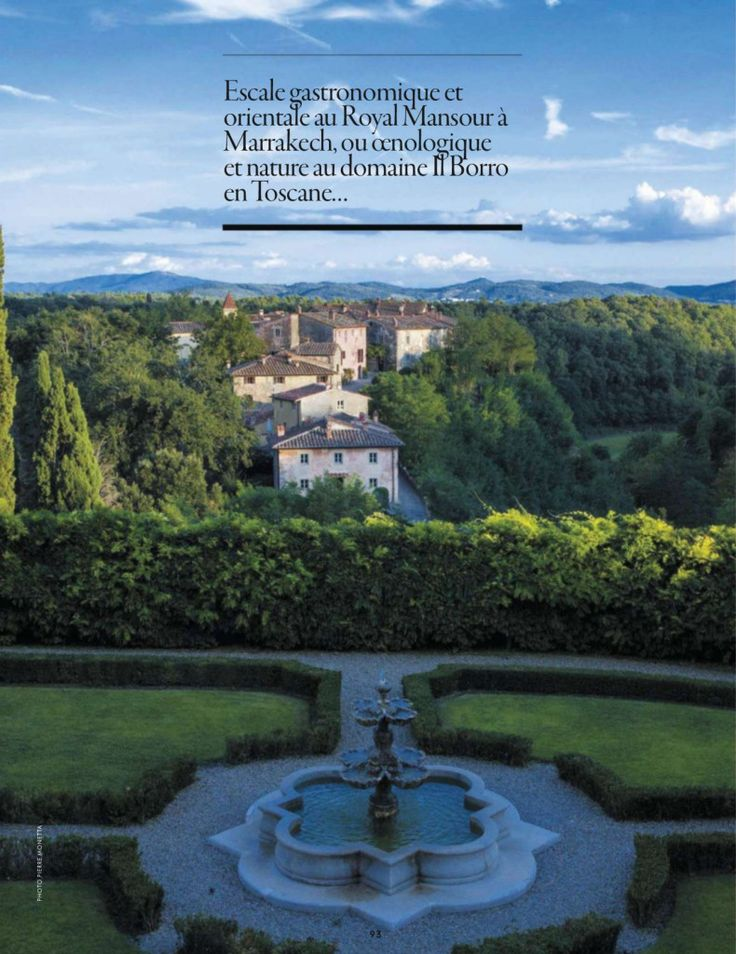 Officiel Voyage talks about Il Borro