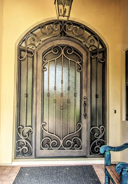 Verona Iron Entry Door   By First Impression Security Doors