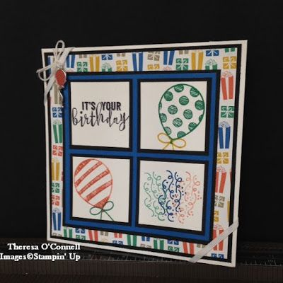 Theresa O'Connell - Independent Stampin' Up Demonstrator