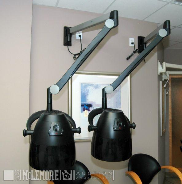 2+Wella+Wall+Mounted+Futura+Basic+Salon+Hair+Dryers