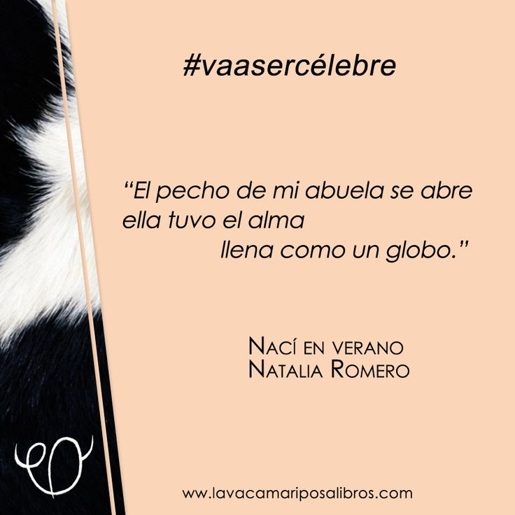 Una frase de Natalia Romero que #vaasercélebre