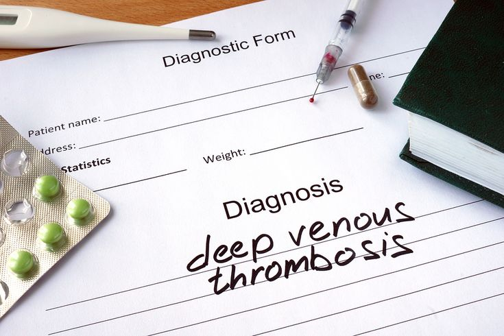 Deep vein thrombosis, or DVT, is a condition in which your loved one is at a greater risk of forming blood clots in the deeper veins of her body.
