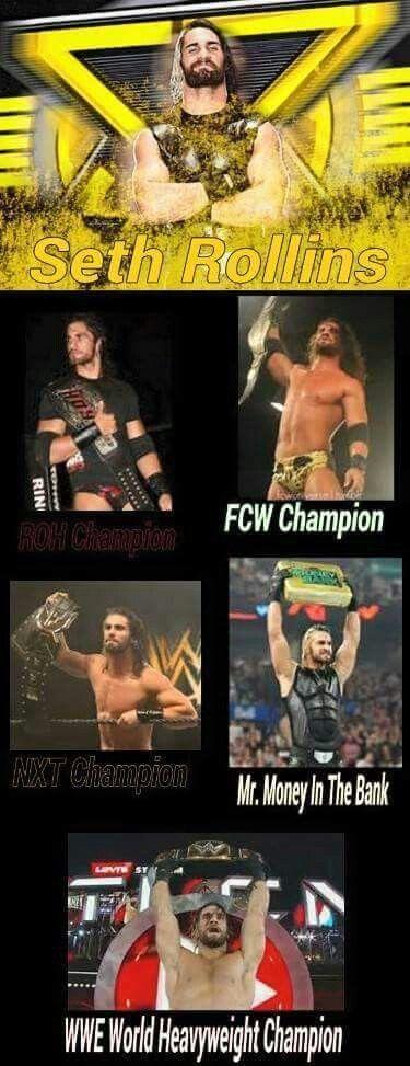 Seth Rollins history as Champion