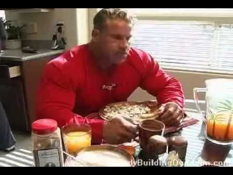 JAY CUTLER DIET WHAT HE EATS FOR TRAINING!