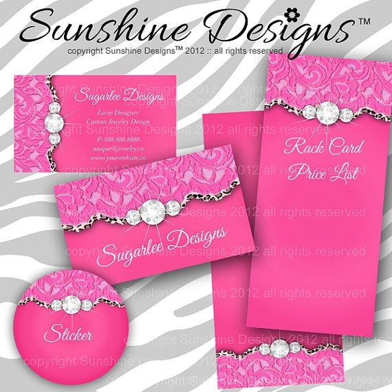 12 best business cards images on pinterest carte de visite jewelry business card branding cute lace by sunshinedesigns88 4598 reheart Image collections