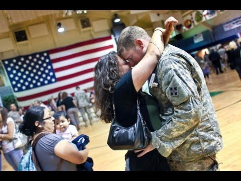 Soldiers Coming Home Surprise Compilation 2015 - 52