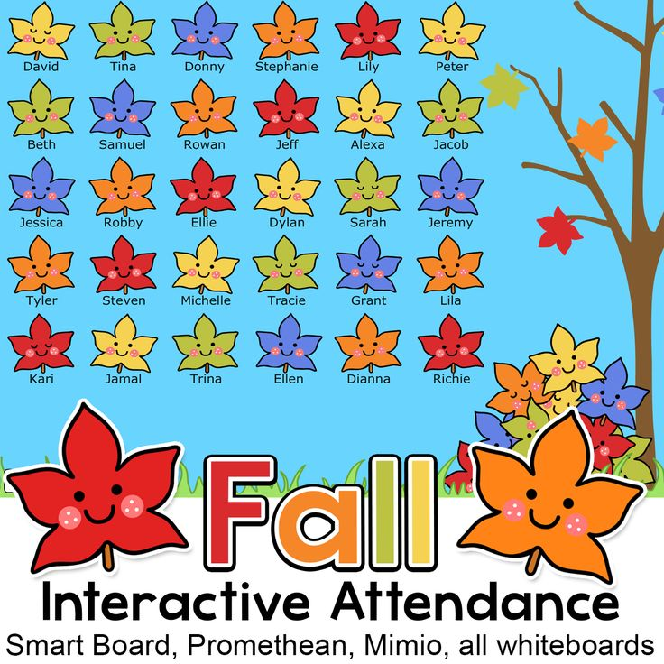8 best Thanksgiving \ Autumn Activities and Decor images on - attendance sheet for students