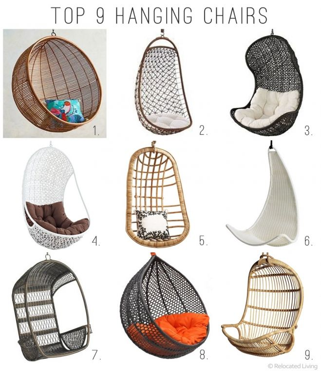 Incroyable Retail Therapy: Modern Hanging Chairs