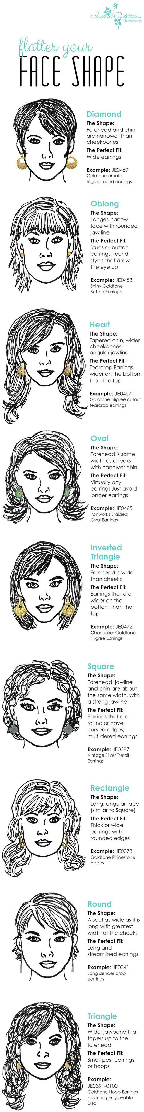 how to flatter your face shape