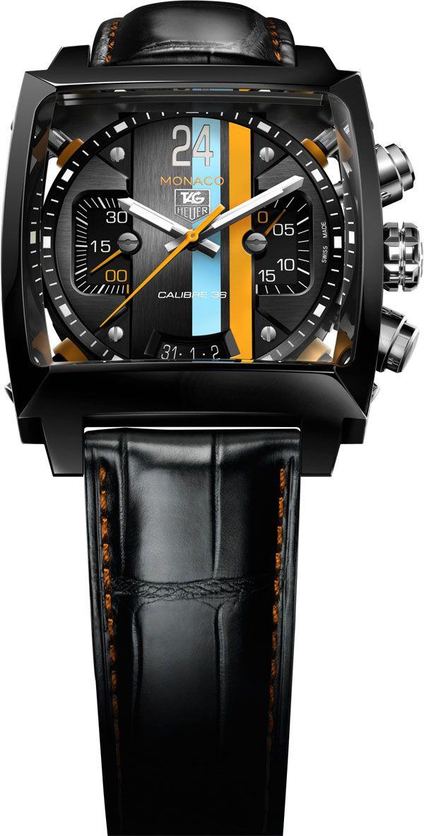 La Cote des Montres : La montre TAG Heuer Monaco Twenty Four Calibre 36 Chronograph - Réinvention technique permanente et passion pour le design novateur