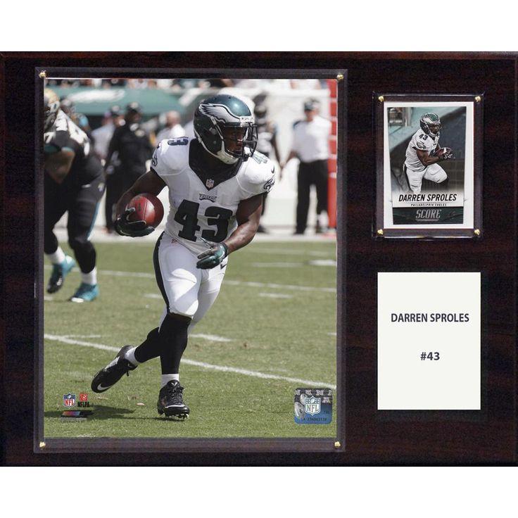 NFL 12in x15in Darren Sproles Philadelphia Eagles Player Plaque