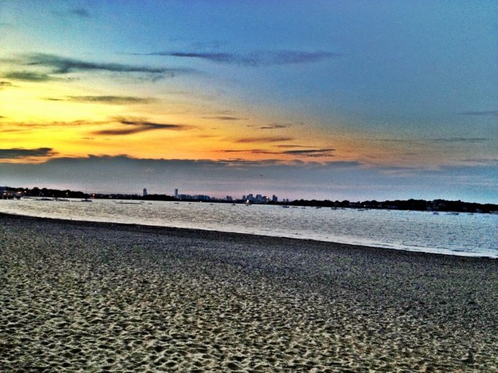 Wollaston Beach in Quincy, MA