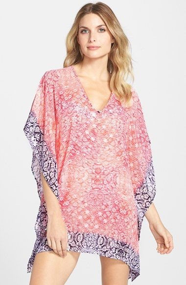 Tommy Bahama 'Coral Medallion' Cover-Up Tunic available at #Nordstrom