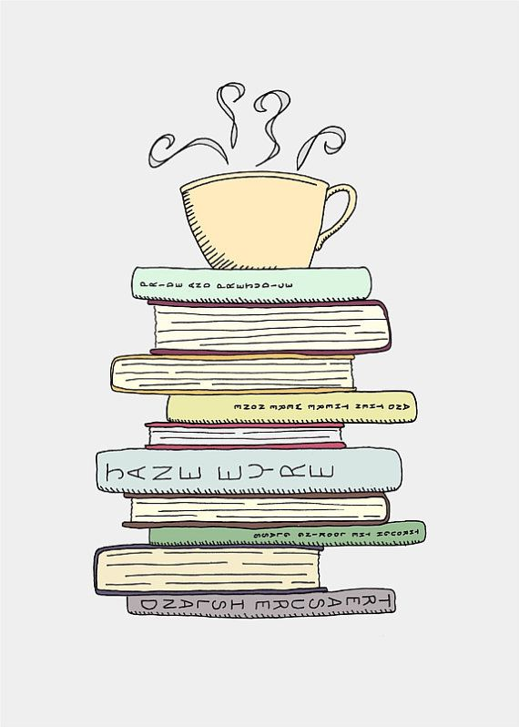 Image result for book cafe clipart