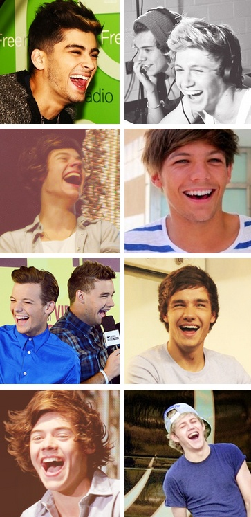 Their laughs<3