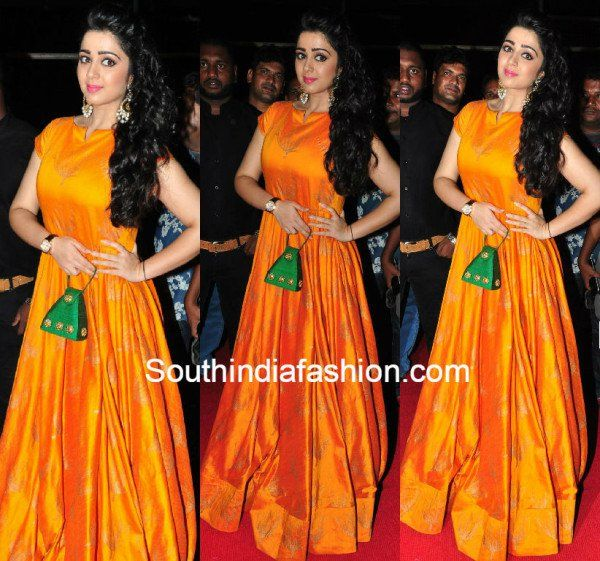 www.southindiafashion.com wp-content uploads 2015 07 chrammee_yellow_floor_length_anarkali.jpg